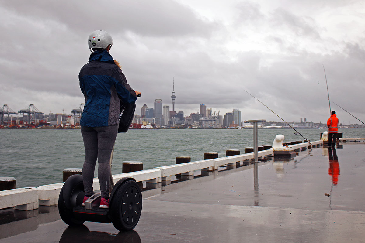 Exploring Devonport by Segway