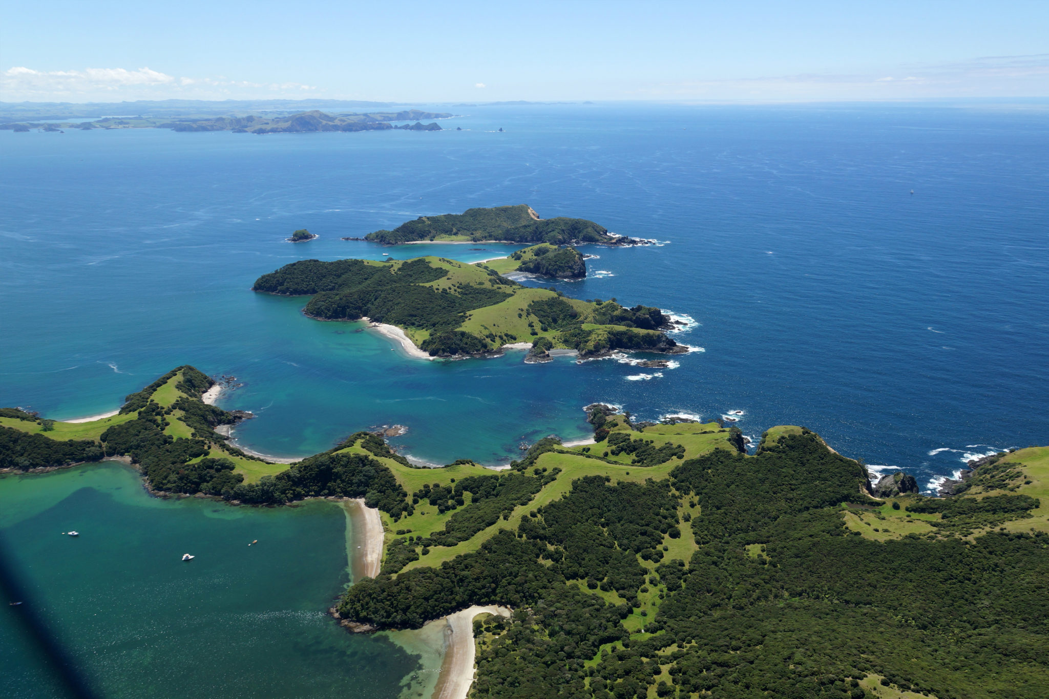 Bay of Islands, New Zealand. Mighway World Masters Games Partner