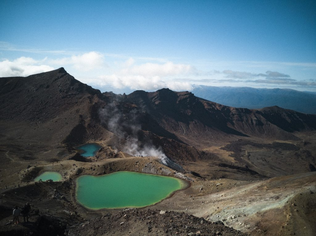 Tongariro Crossing, NZ