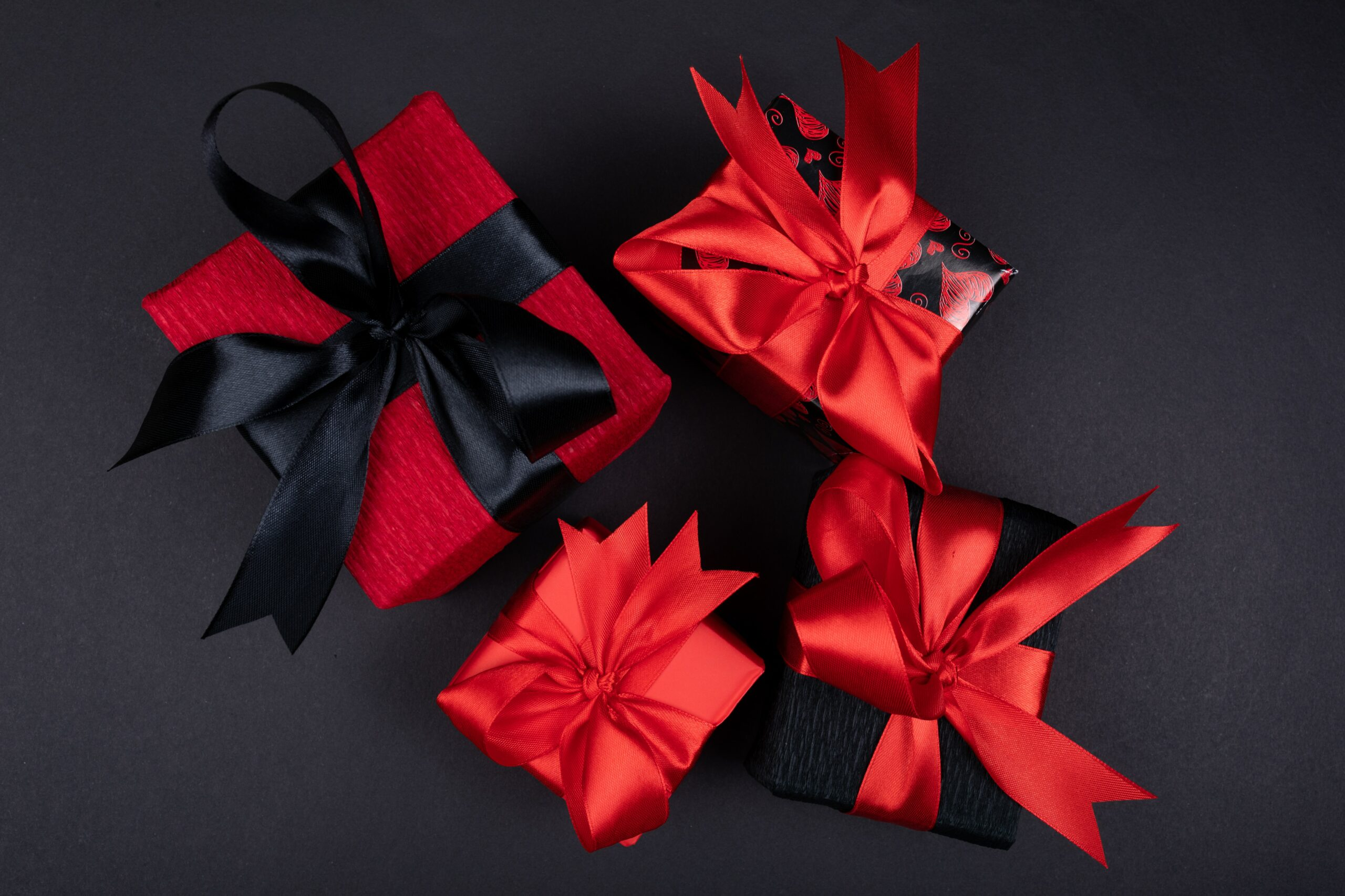 Present with ribbon
